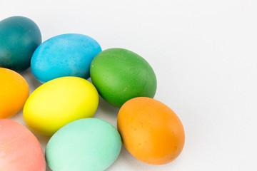 Multicolour Easter eggs