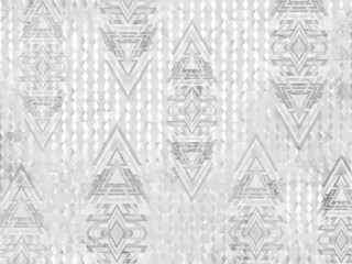ETHNIC AZTEC TRIANGLE BACKGROUND WHITE