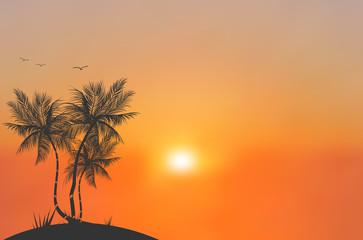 Sun Blurred Illustration