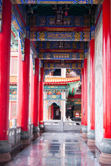 Chinese temple roof architecture