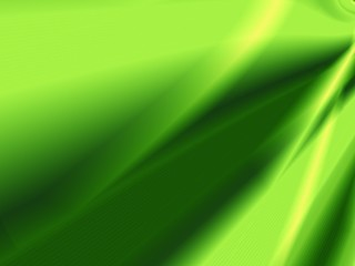 Leaf abstract card green design