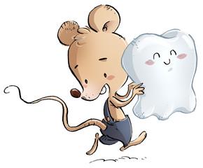 raton con diente