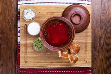 Ukrainian borsch