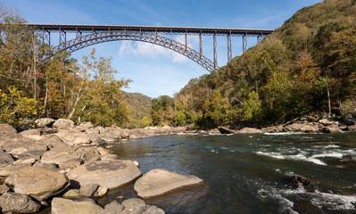 Fototapete - New River Gorge Bridge in West Virginia