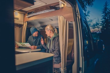 Couples RV Camping