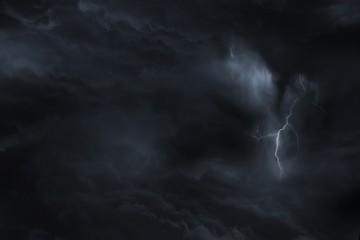 Dark Sky Lightning Storm