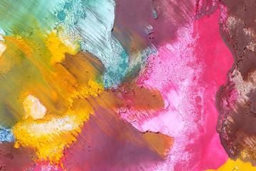 фон текстура краски гуашь разных цветов