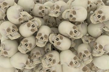 mountain of skulls