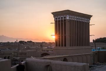 Der Iran - Yazd  Windturm