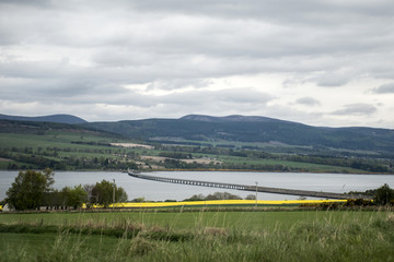 Cromarty Bridge near Inverness Scotland Dingwall