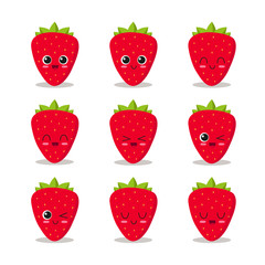 Strawberry character collection