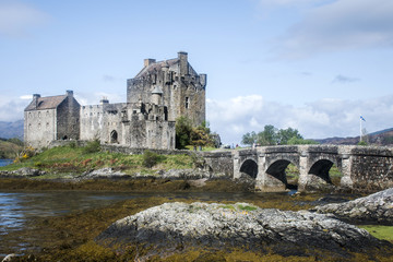 Eilean Donan Castle Isle of Sky Scotland United Kingdom