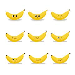 Banana character collection