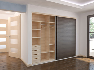 Wardrobe - Sliding doors - interior