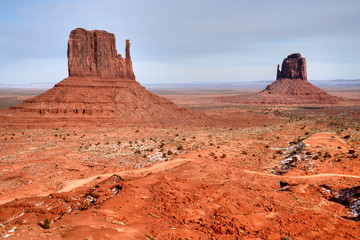 Wall Mural - Monument Valley Arizona Navajo Nation