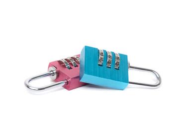 small colorful lock