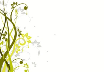 beauty abstract floral background