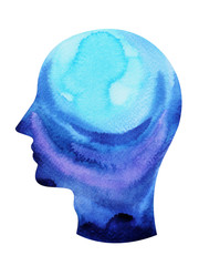 human head, chakra power, inspiration abstract thought, world, universe inside your mind