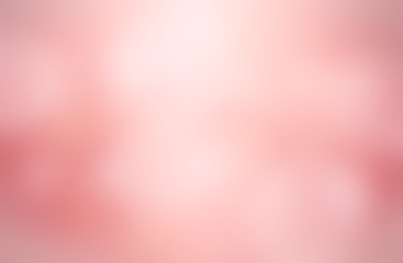 Abstract Blurred pink tone lights background.