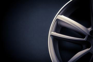 Car rim detail