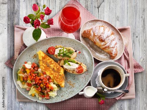A traditional italian breakfast stock photo and royalty for Italian breakfast