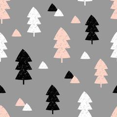 Fototapete - Seamless Christmas Pattern
