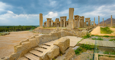 ancient Persepolis's remains