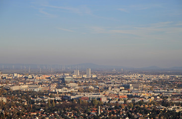 the view of austrian capital Vienna