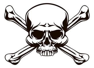 Skull and Cross Bones Sign