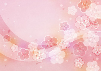 梅の花の背景