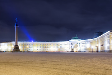 View of the General Staff Building on Palace Square