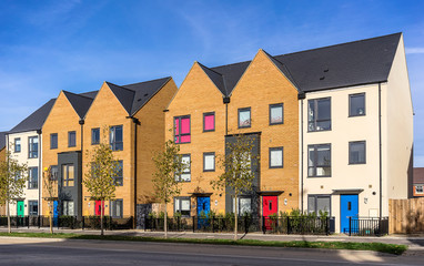 New urban housing in the south of England