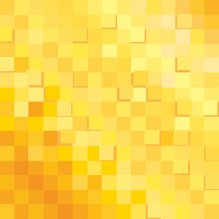 background, pattern, transition from light to dark, vector , geometric, cage, squares yellow