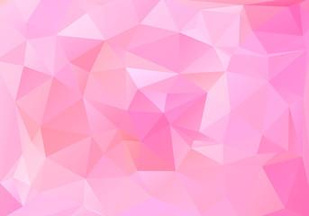 Abstract polygonal background Fotoväggar