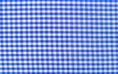 Blauer Karohintergrund (Landhausstil)