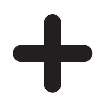 add plus sign icon illustration design
