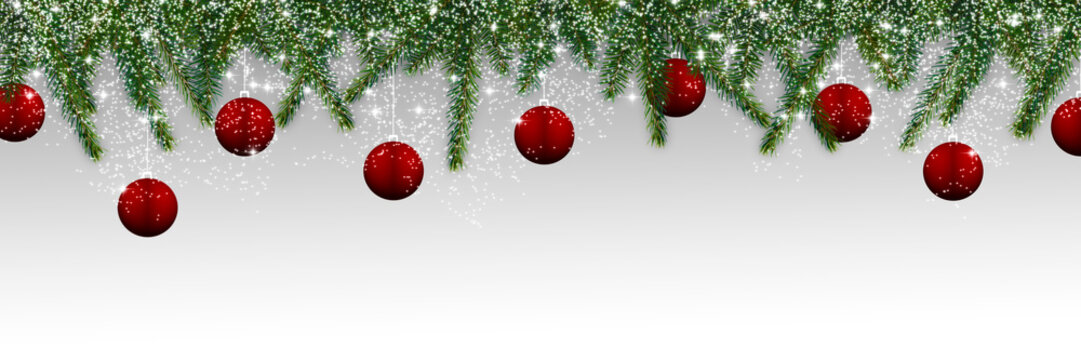 Christmas decoration - panorama