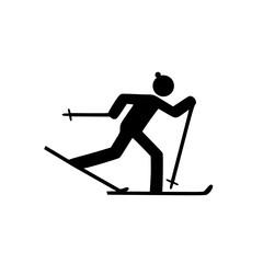 Ski Langlauf Icon