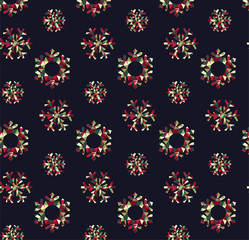 Xmas seamless pattern