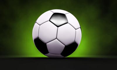 Fußball mit Glow im Hintergrund - Championsleague