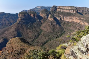 Blyde River Canyon - Three Rondavels