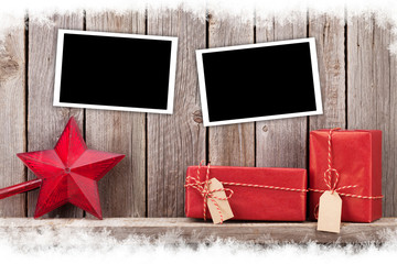 Christmas photo frames, gifts and decor