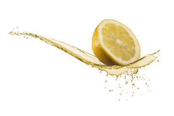 Fototapete - lemon juice