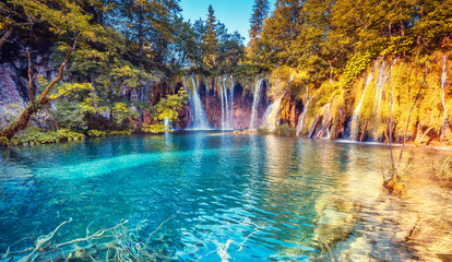 Wall Mural - Plitvice Lakes National Park