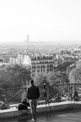 Parisien en tournage