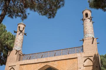 Der Iran - Isfahan  Schwingende Minarette