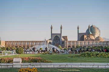 Der Iran - Isfahan  Imam Moschee