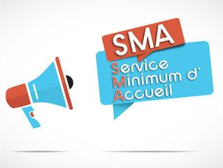mégaphone : SMA