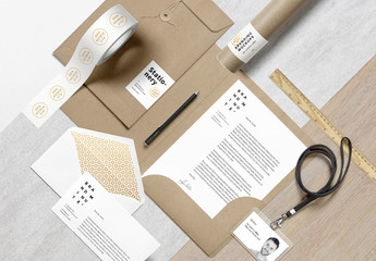 Packaging and Mailer Mockup
