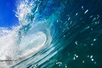 Beautiful Ocean Background Huge Shorebreak Wave for Surfing Big